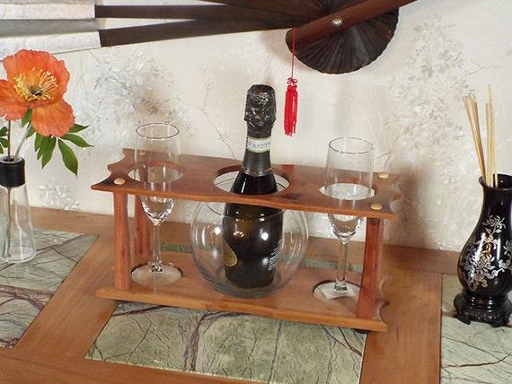 33 - Champagne Ice Bowl (1) Stemmed Glass (2 station) Split 375ml
