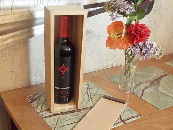 20 - Wine Box for a Full 750ml Full Bottle