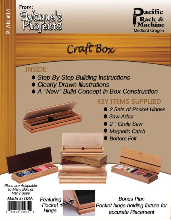 B. Craft Box Plans