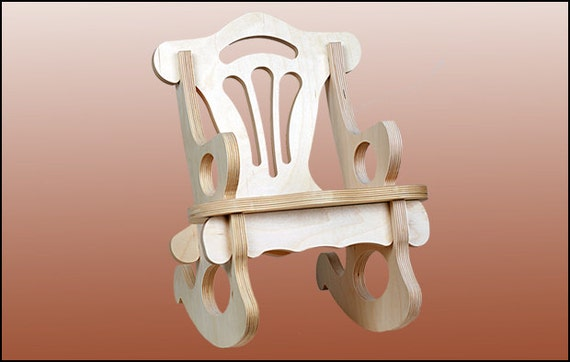 13. Children's Rocking Chair (ready for assembly)