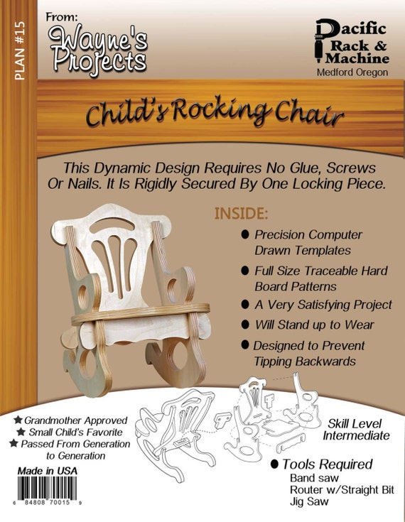 A. Child's Rocking Chair Plans