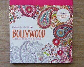 Bollywood Adult Coloring BookColoring For Mindfulness