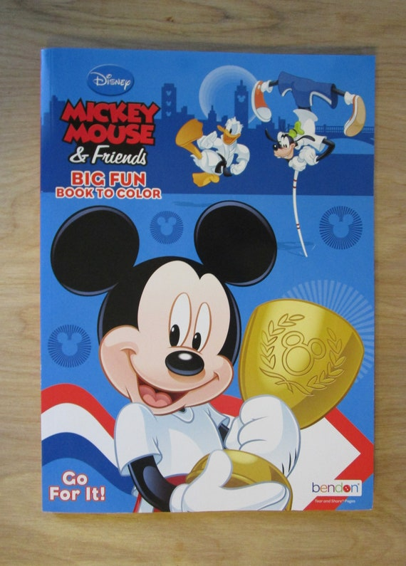 Book Disney Classic Mickey Mouse /& Friends Note Pad