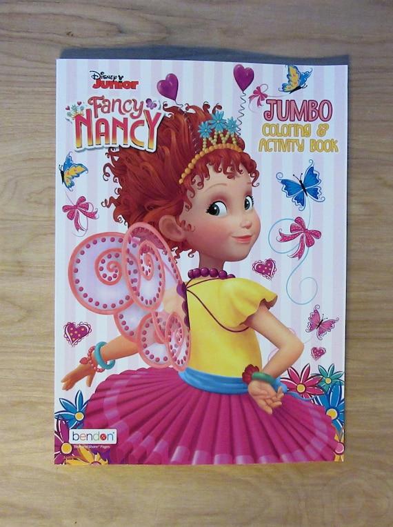 Disney Junior Fancy Nancy Jumbo Coloring Book & Activity Etsy