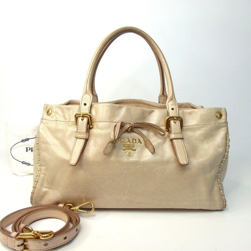 945a2425b33 SALE!!!!! Authentic Vintage Prada Handbag Shoulder Satchel Tote ...