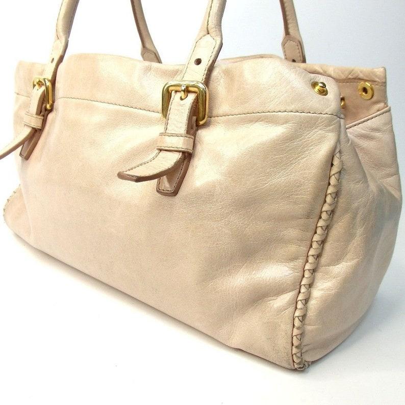 2063fc87987 SALE Authentic Vintage Prada Handbag Shoulder Satchel   Etsy