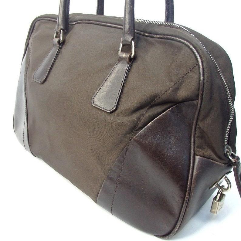 6c678e8a125c SALE Authentic Vintage Prada Shoulder Satchel Tote Bag