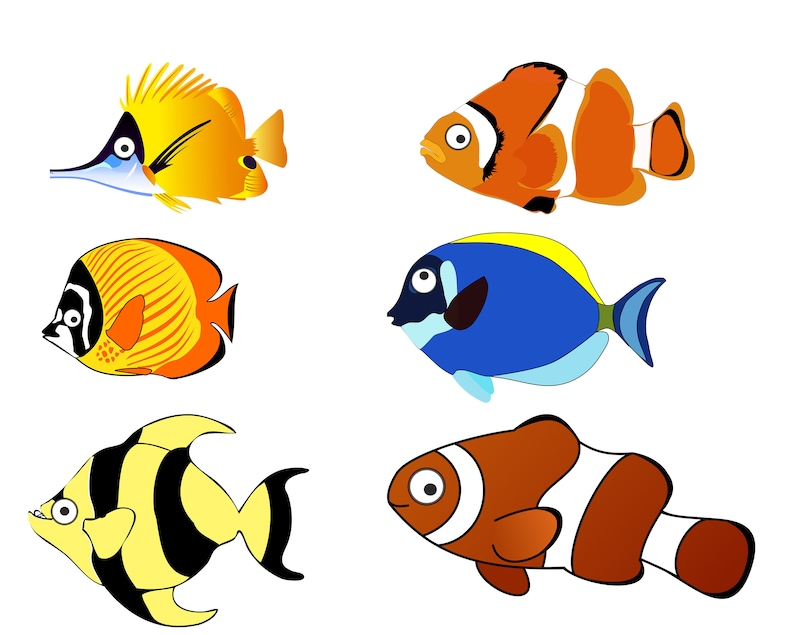 Fish Clip art Ocean Fish ClipArt Fish PNG Cartoon Fish ...