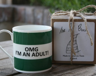 OMG I'm An Adult Hoop Mug