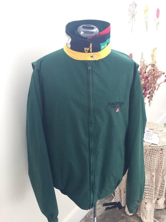 Classic Vintage Reversible Nautica Jacket