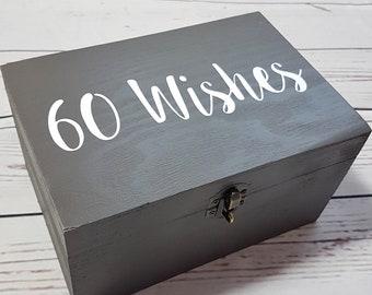 Personalised Birthday Memory Box