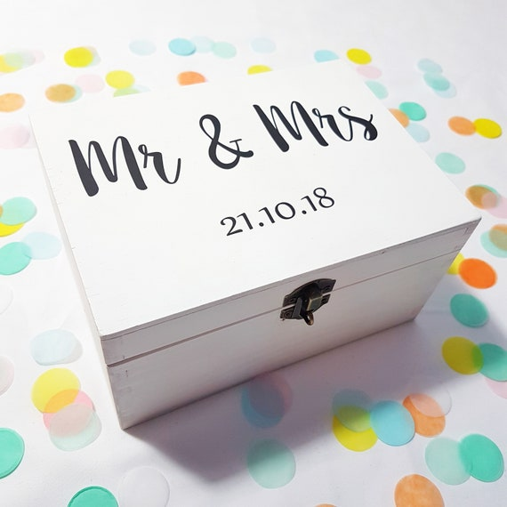 Personalised Wedding box