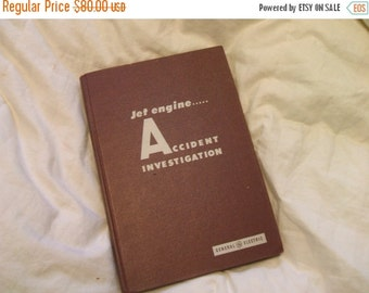 Now On Sale Jet Engine Accident Investigation 1959  General Electric