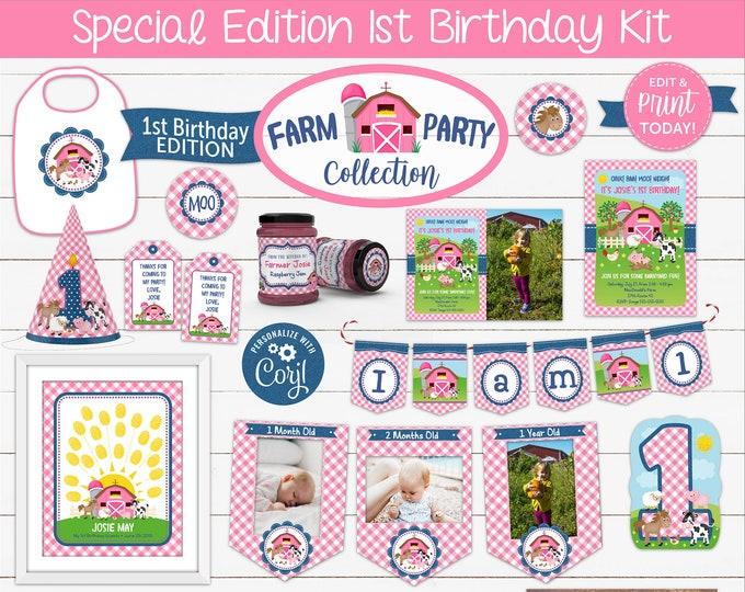 1st Birthday Kits
