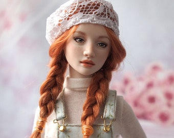 OOAK Full set porcelain BJD doll Polina