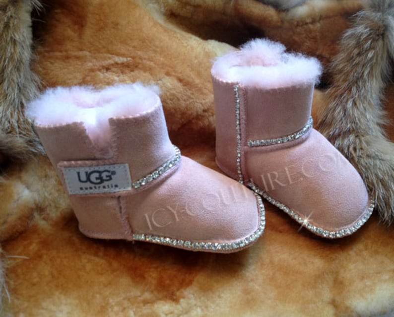 BLING BABY UGGS Boots with Swarovski Crystals image 0