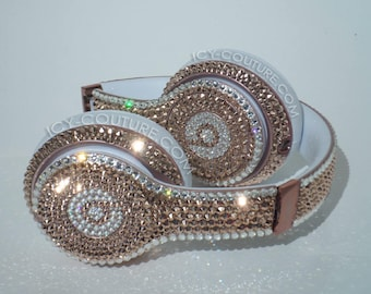 Bling BEATS Swarovski Crystals - Rose Gold & Diamonds Couture