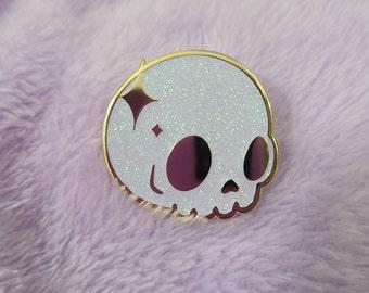 Horror Gifts Horror Pins White Bone Pin Pastel Goth Clothing Halloween Pin Game Spooky Pin Lapel Pin Skeleton Pin Halloween Jewelry