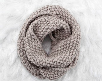 Reverence - Knitting Pattern - Knit Cowl - Brome Fields