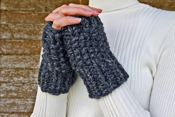 Fingerless Gloves Knitting Pattern Leftover Yarn Pattern A Etsy