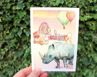 Later, Circus | Greeting card