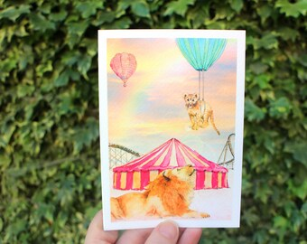Set them free | Greeting card