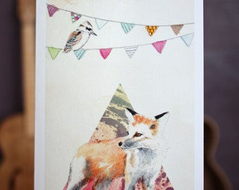 Who Gives a Fox | Greeting card