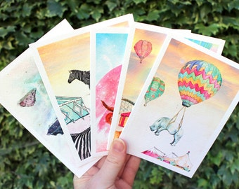 Mixed bag | 5 x Greeting cards