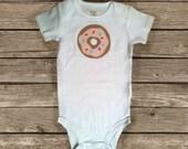 Doughnut Baby Bodysuit  - Donut Baby Snapsuit