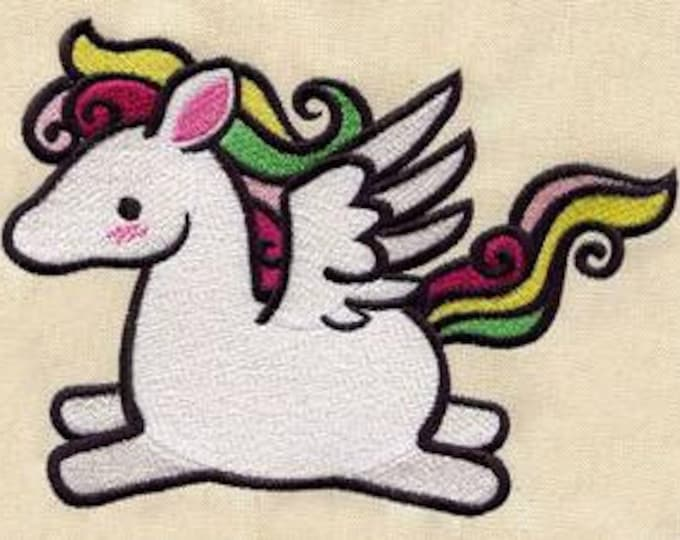 Cute Pegasus Kawaii Mythology Dice Bag or Pouch