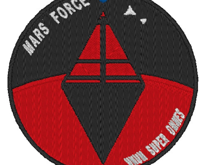 Mars Force PlanetFall LARP Patch