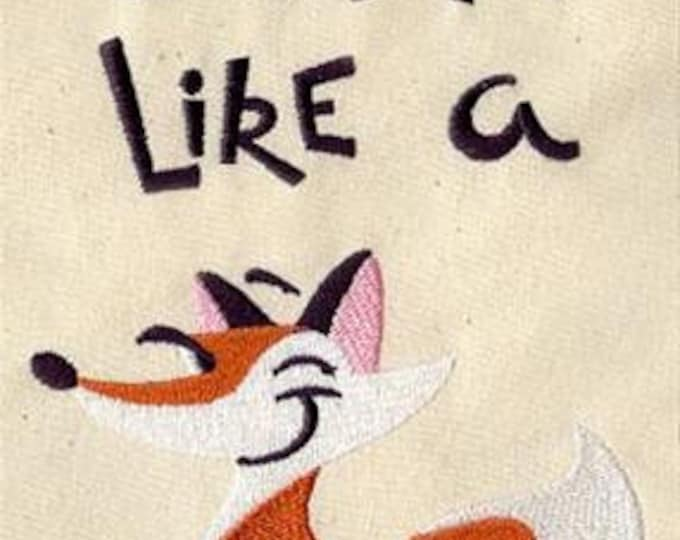 Crafty Like a Fox Sewing Dice Bag or Pouch