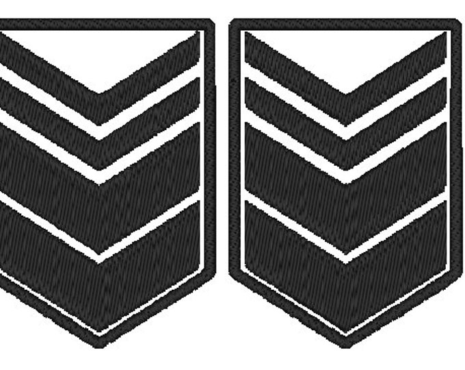 Sergeant Major PlanetFall LARP Patch