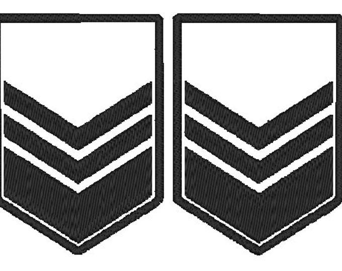 Sergeant PlanetFall LARP Patch