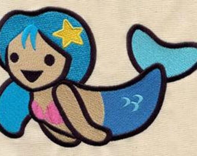 Cute Mermaid Kawaii Mythology Dice Bag or Pouch
