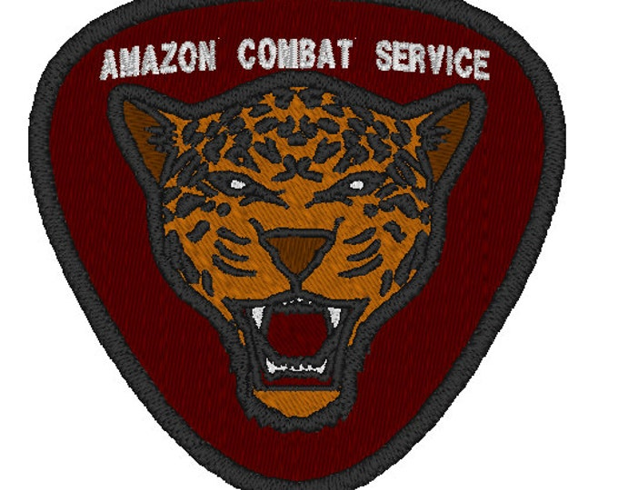 Amazon Combat Service PlanetFall LARP Patch