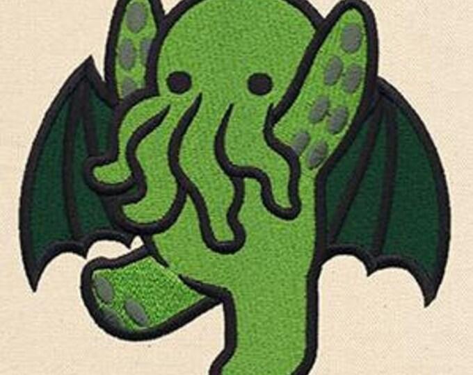 Cthulhu Cute Kawaii Mythology Lovecraft Dice Bag or Pouch