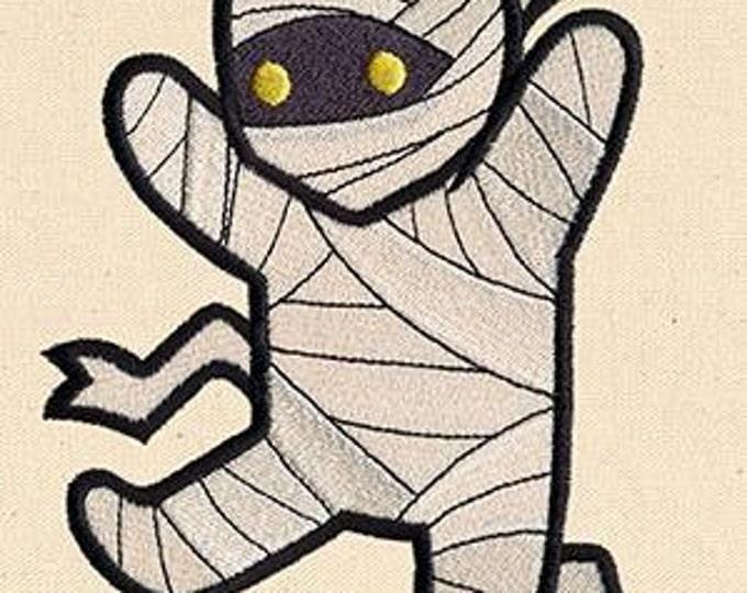 Cute Mummy  Monster Kawaii Mythology Dice Bag or Pouch