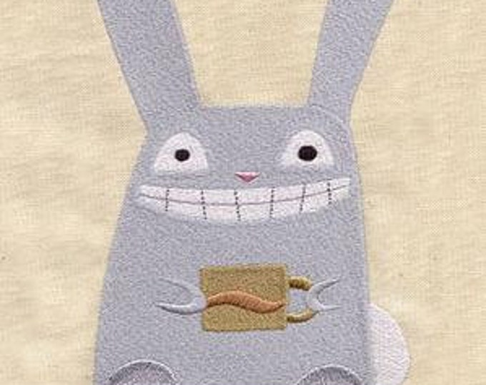 Coffee  Bunny Dice Bag or Pouch