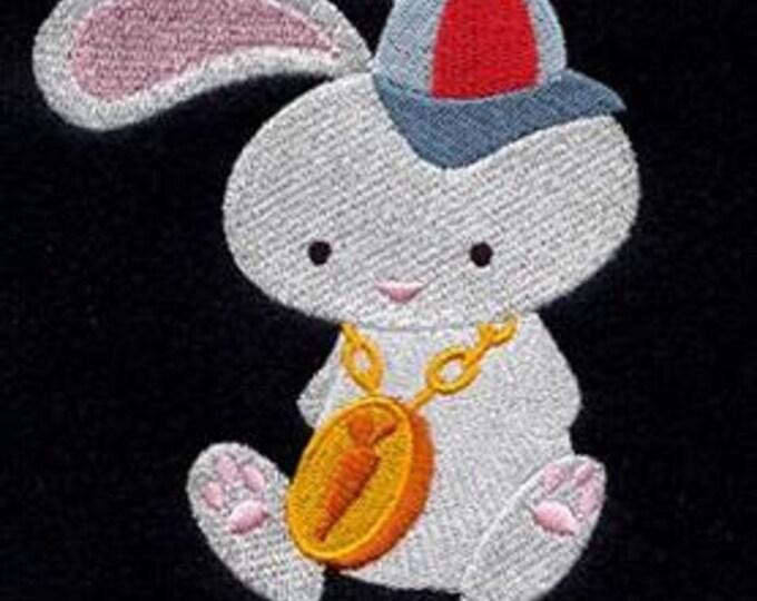 Hippity Hop Hip Hop Clock Bunny Dice Bag or Pouch