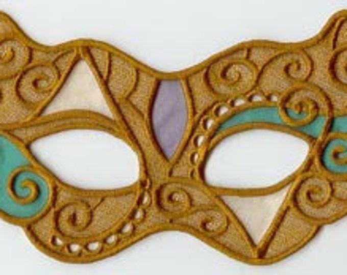 Masquerade Gothic mask Halloween Mardi Gras Costume
