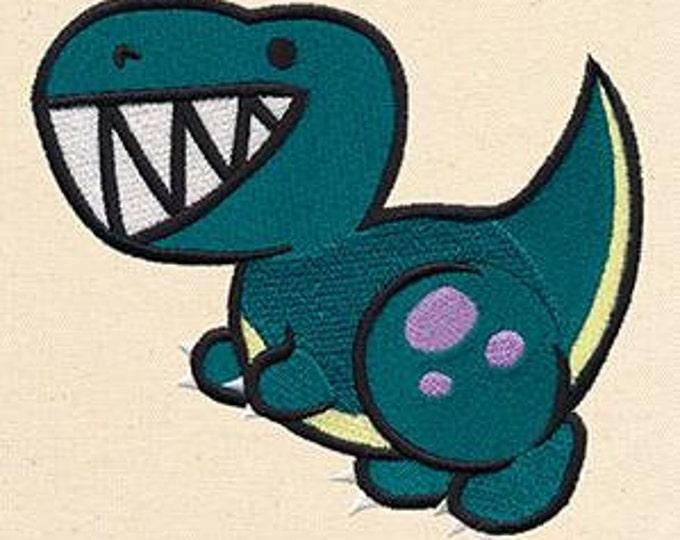 Cute Dinosaur T Rex Kawaii Mythology Dice Bag or Pouch