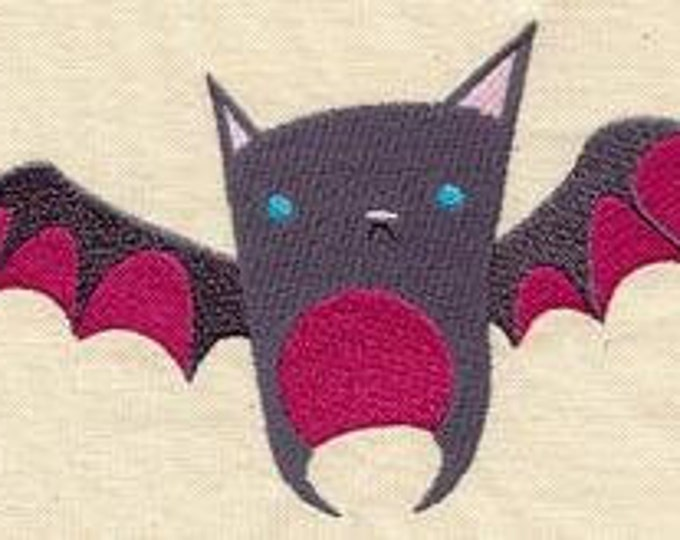 Cute Bat Wings Embroidered Dice Bag or Pouch