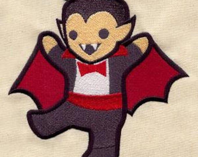 Cute Dracula Vampire Kawaii Mythology Dice Bag or Pouch