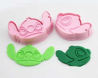 Stitch Cookie Cutter Mold Set - Walt Disney Lilo
