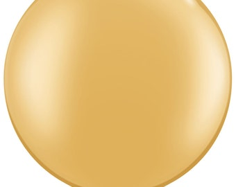 36 inch GOLD balloon - perfect for wedding baby shower bridal shower photo shoot