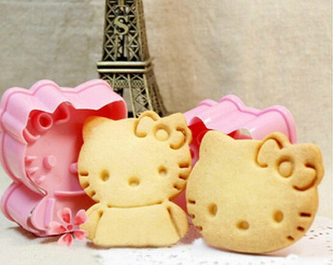 Hello Kitty Cookie Cutter Mold Set