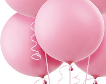 36 inch pink balloon - perfect for wedding baby shower bridal shower photo shoot