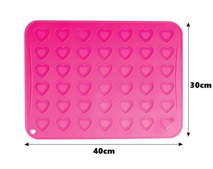 Heart Macaron Silicone Mat - 756544