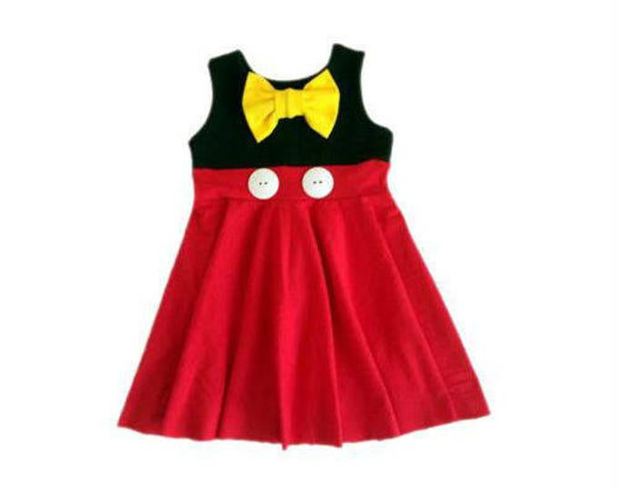 Mickey Mouse Inspired Dress
